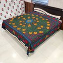 Embroidered Cotton Bed sheet