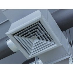 SS Ceiling Mounted Ventilation System