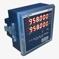 Unitech Three Phase Dual Source Meter (4135), Voltage: 230 V