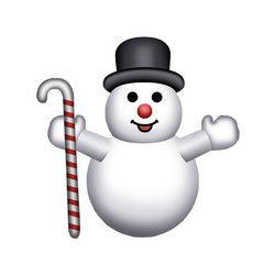 White Snowman Inflatable