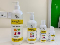 Sany Fix Alcohol Based Instant Hand Sanitizer