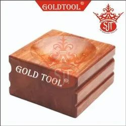 Gold Tool Mini Hand Vice With Wooden Handle