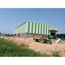 Steel Industrial Rice Mill Shed