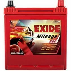 Exide Mileage Red Battery, Capacity: 45 Ah