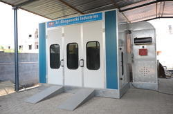 Electric Paint Spray  Booths