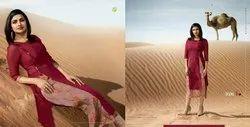 Vinay Fashion's Tumbaa Fantasy Georgette Kurtis