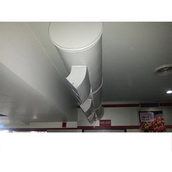 Air Cooling Round Duct System