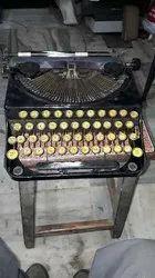 Remington Black Antique Portable Typewriter