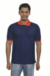Mens Blue Polo T Shirts