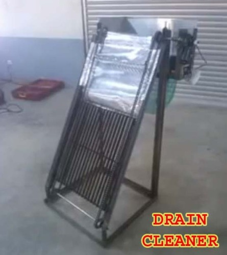 Floor Cleaning Machine Mechanical Project
