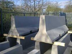 Precast Concrete Highway Barrier Mould