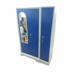 3 Door Steel Almirah with Mirror