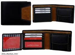 Genuine Leather Credit Card Mens Wallet (2016)