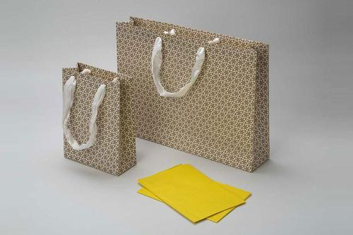 Festive Gold Gift Bags Size Dimension 14