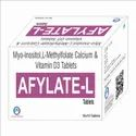 Myo - Inositol 1gm   L- Methylfolate Calcium 100 Mcg  Vit. D3 25 Mcg