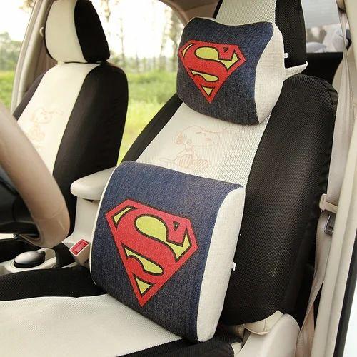 Car Seat Red Pillow, Car Seat Pillow - Prateek & Company, Delhi   ID ...