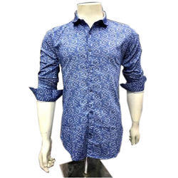 Fashion Fever Mens Full Sleeve Printed Casual Shirt, Size: M-XL