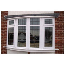 Hinged Plain UPVC Villa Windows, for Residential And Commercial, Thickness Of Glass: 3-5 Mm