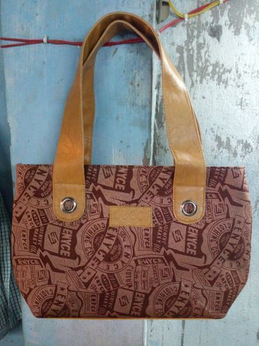 Rexine Party Wear Printed Ladies Hand Bag 0405a008238f7
