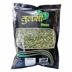 Bold Tulsi Natural Green Cardamom, Cardamom Size: 7 mm, Packaging Type: Gunny Bag