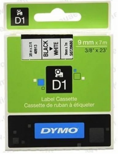 Dymo Tape, D1 Tapes - 9 MM X 7 Mtrs for LM-160, LM-280, LM-420 & MOBILE LABELER, SKU 40913, S0720680