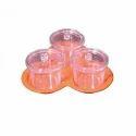 Polycarbonate Jampot Set