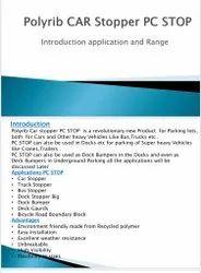Polyrib Car Stopper PC Stop