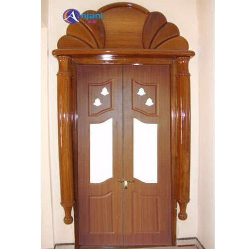 Pooja door pooja designs for your pooja doors 9551139019 for Teak wood doors