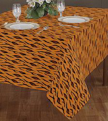 Animal Pattern Printed Table Cloth