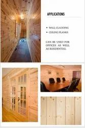 Pine Wood wall & ceiling