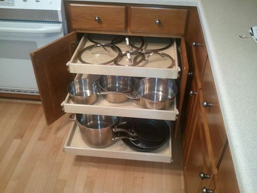 Pull Out Kitchen Cabinet at Rs 5000 /feet   Kitchen Pantry Cabinet ...