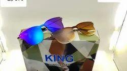 Men Stylish Plastic Frame Sunglasses