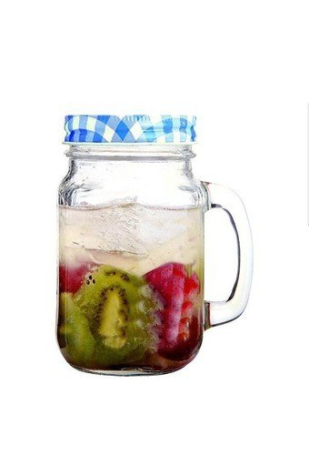 Mason Jar With Lid