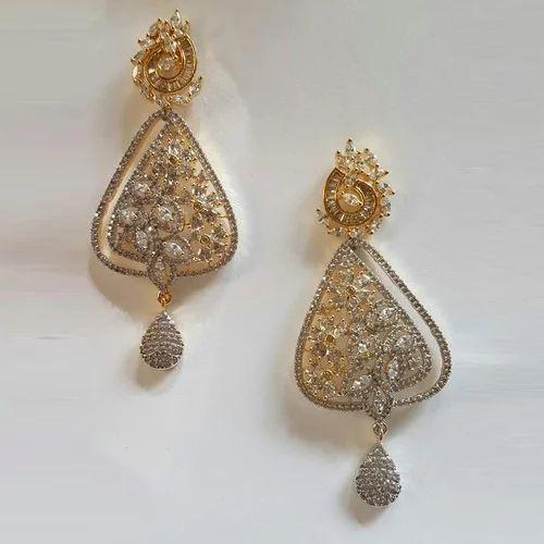 2ced61a70 Lotus Creations Ladies Brass Dangler Earrings, Rs 564 /pair   ID ...