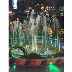 SS Round Sensor Fountain, 220V/380V