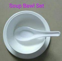 Plastic Round Soup Bowl Set
