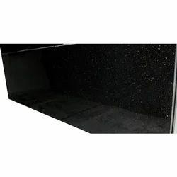 Rajasthan Black Granite, Slab, 15-20 mm