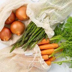 Oeko Tex Certified Mesh Produce Bag GOTS Certified Mesh Produce Veggie Bags