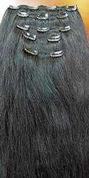 Hair King Raw Clip Straight  Human Hair Extensions