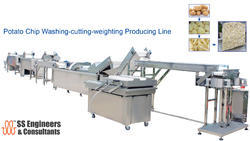 Potato Washer And Chip Cutting Producing Line