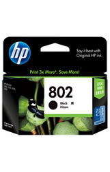 HP 802 Black Original Ink Cartridge (CH563ZZ)