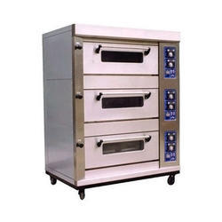 SS Three Deck Oven