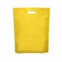 Yellow D Cut Non Woven Bags