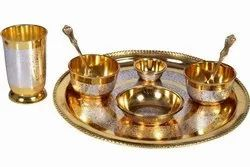 Brass Moon Dinner Set