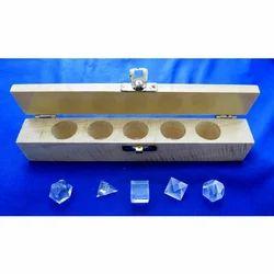 Transparent Crystal Geometry Set