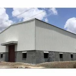 Prefabricated Industrial Shed Structure