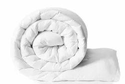 White Plain Bed Comforter