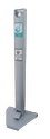 Pedal Hand Sanitizer Dispenser With 500ml Bottle