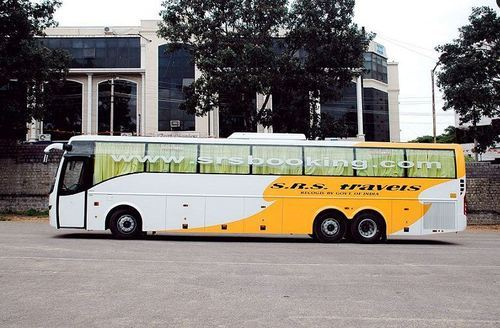 semi bus bus travels bus hire services service provider from sirohi