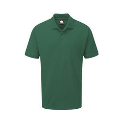 Collar Neck Half Sleeves Osprey Deluxe Polo T Shirt